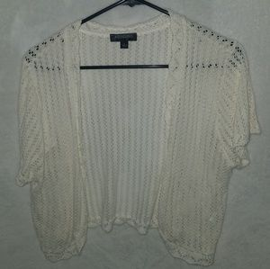 Cover up knitted shirt